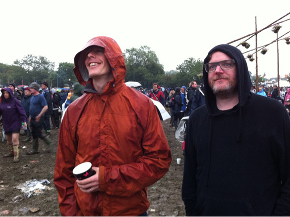 Jim and Kev watch Morrissey at Glasto
